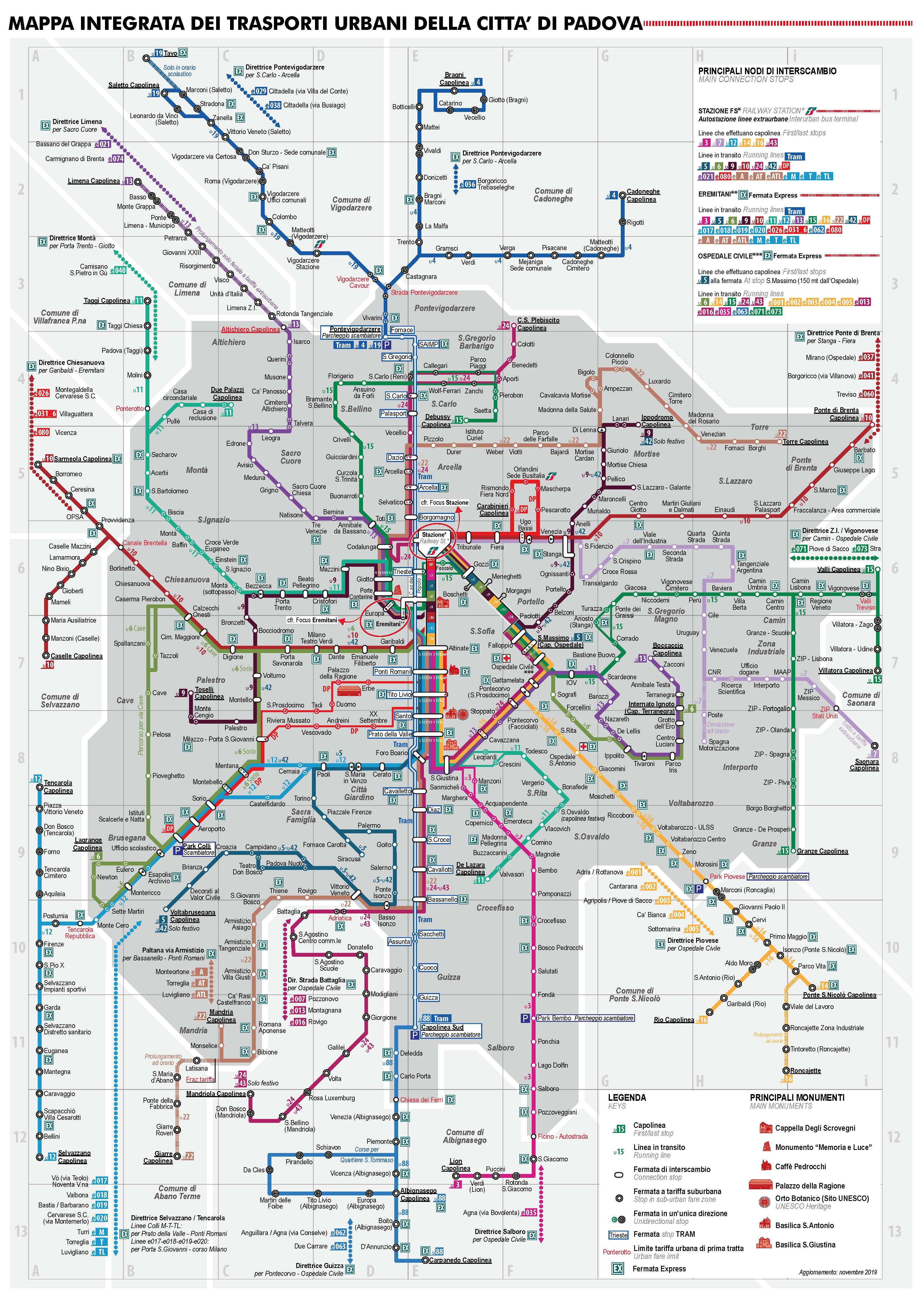 Cartina Italia Javascript.Mappa Delle Linee